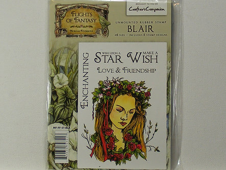 Crafters Companion - Flights Of Fantasy Blair Rubber Stamp
