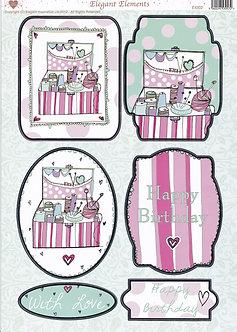 Elegant Elements - Sewing & Knitting Box Topper