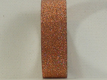 Craft Washi Tape - Bronze Glitter.