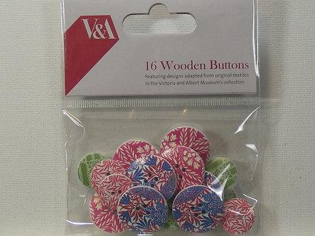 Victoria & Albert - Wooden Buttons