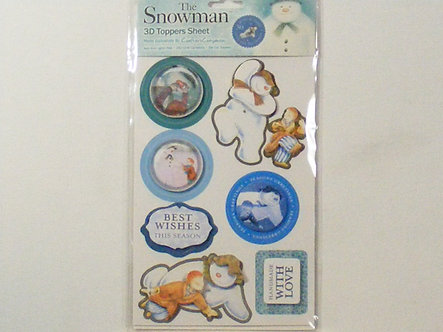 Crafters Companion - The Snowman 3D Topper Set 4.