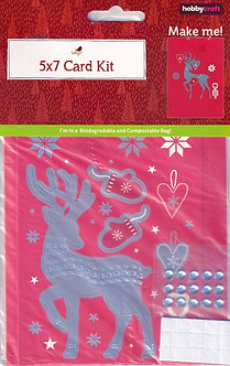 "Hobbycraft - Nordic 5"" x 7"" Card Kit"