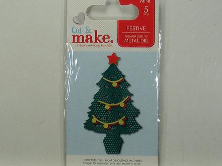 Cut & Make - Festive Xmas Tree