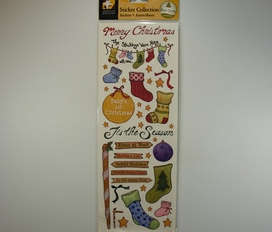 American Traditional - Sticker Collection - Stockings