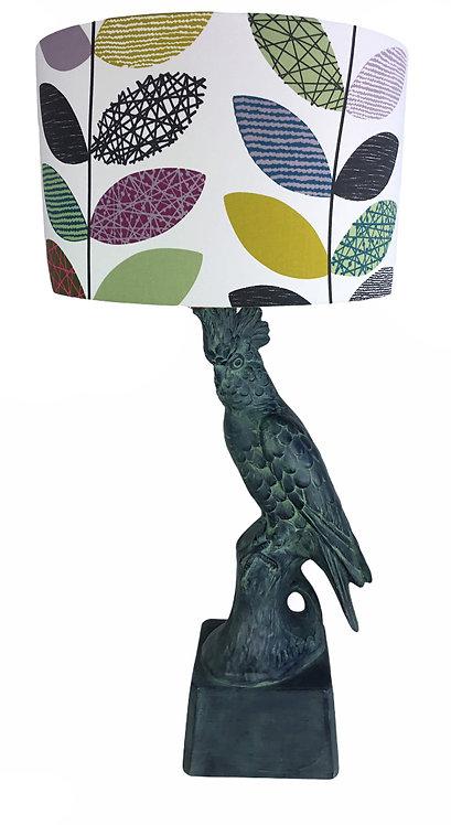 Antique Verdigris Lamp