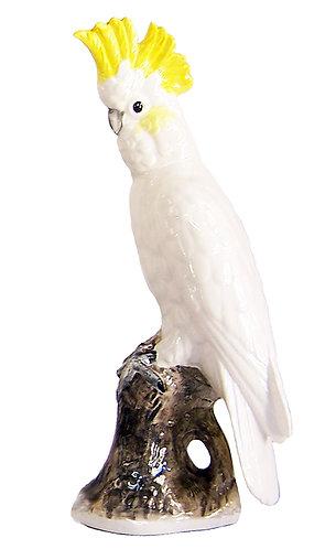 Ceramic Cockatoo