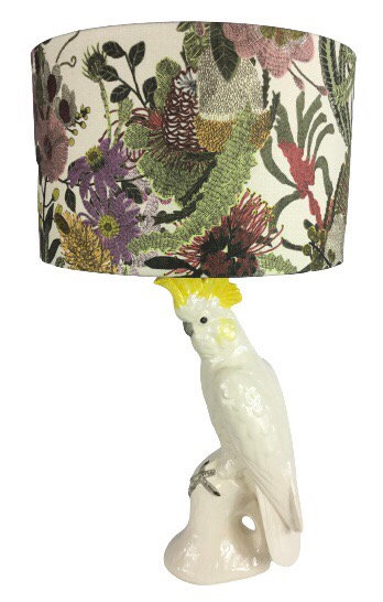 Yellow Crested Cockatoo Lamp