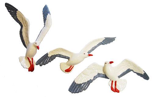 Flying Seagulls Ceramic
