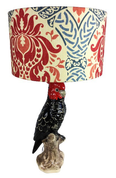 Gang-Gang Cockatoo Lamp