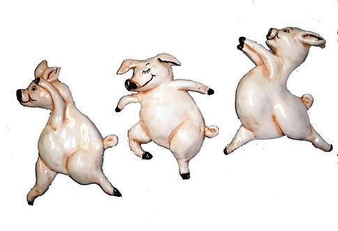 3 Dancing Pigs