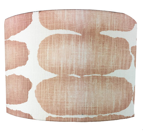 Drum Shade - Shibori Dot Blush