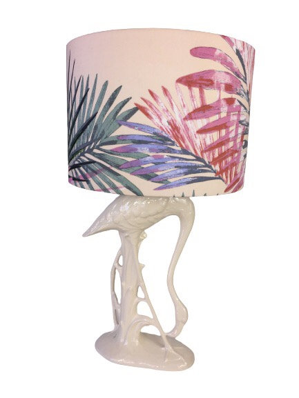 White Flamingo Lamp