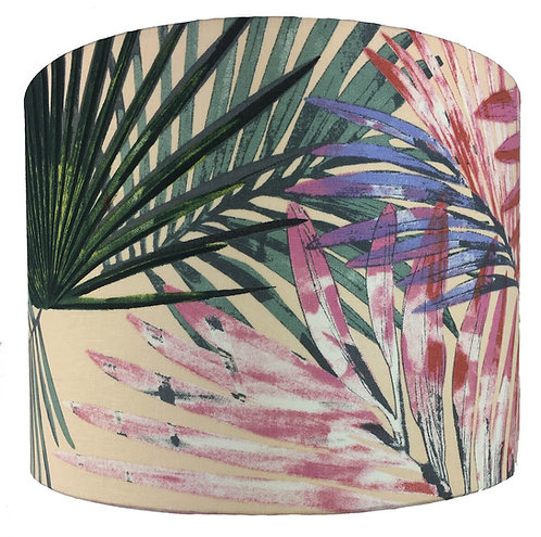 Pink Palm Leaves