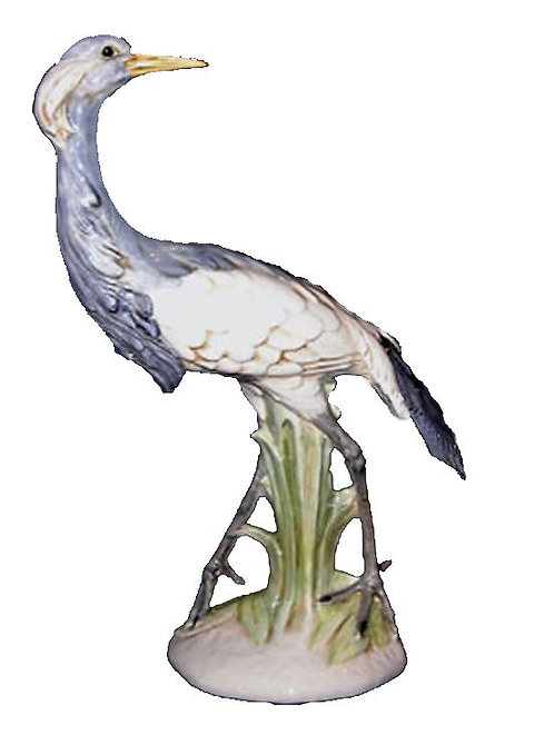 Ceramic Blue Crane