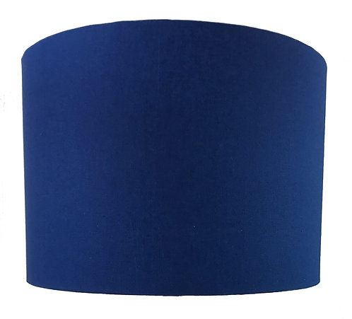 Drum Shade - Indigo Blue