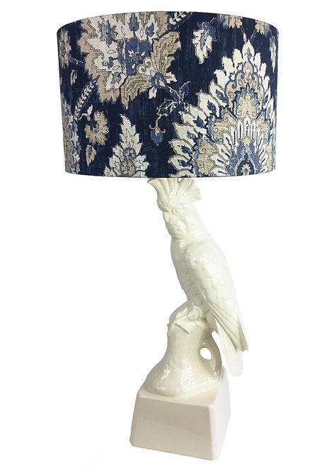 Gloss White Cockatoo Lamp