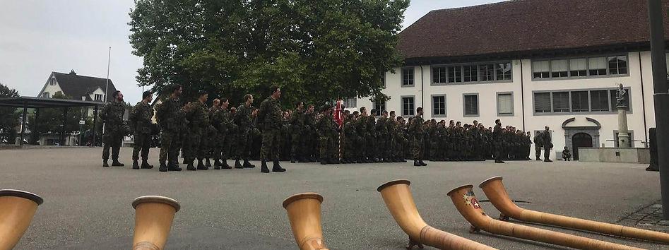 Auftritt Fahnenübergabe Armee