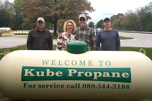 Our Kube Propane Family has grown.  Stop