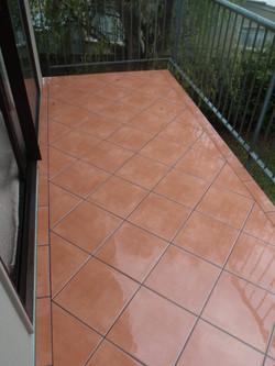 Terracota Balcony tiling