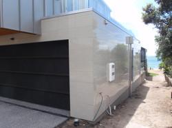 High gloss tiled exterior