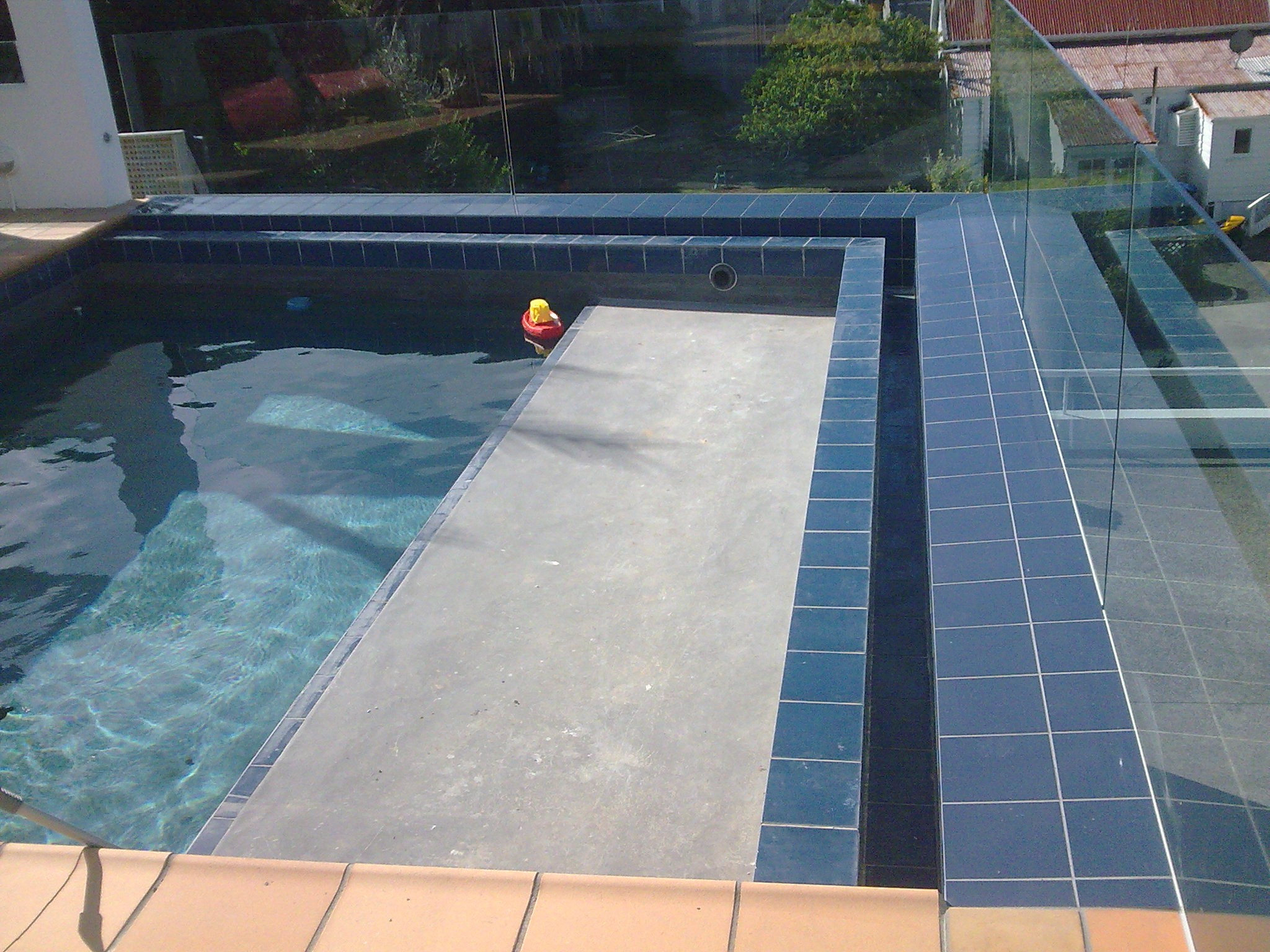 Pool Tiling, St Heliers Bay