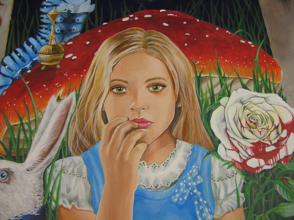 Detail of Alice.