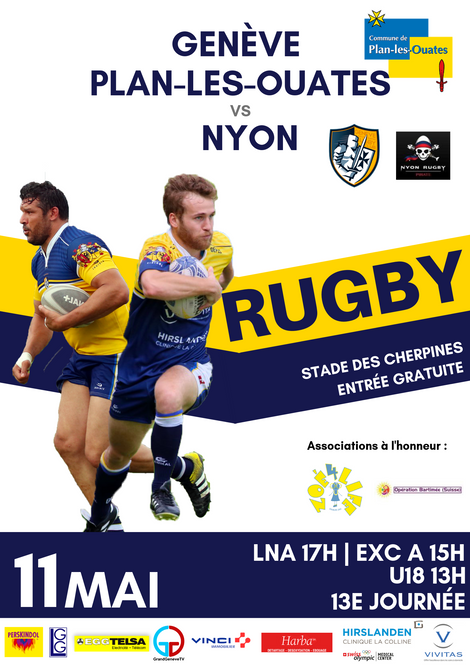 RUGBY DAY le 11 mai