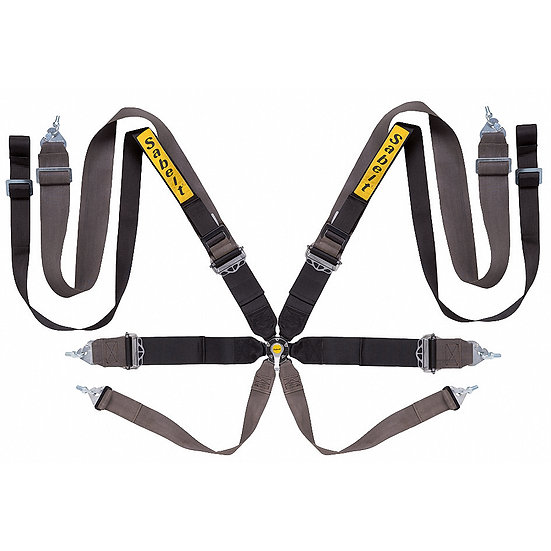 "Harness 8-point, 3"" Shoulder Straps, 3"" Lap Straps"
