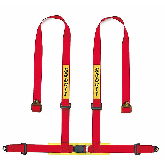 Harness 4-Point, Adjustable Shoulder Bracket