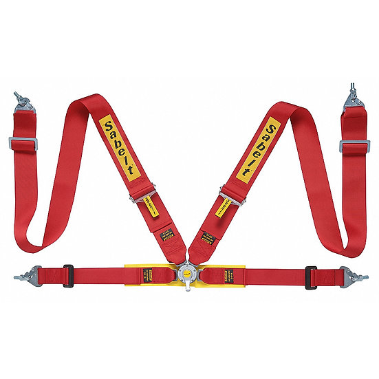 "Harness 4-point, 3"" Shoulder Strap, 2"" Lap Strap"