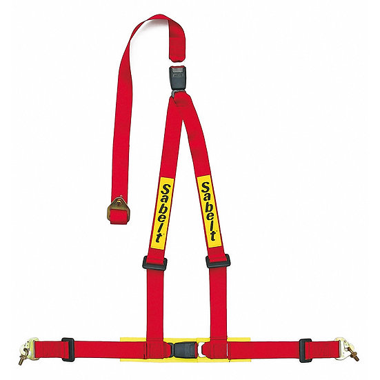 Harness 3-Point, Adjustable Shoulder Bracket