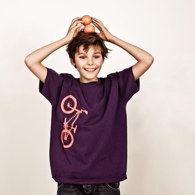 T-shirts Peau Rouge - Shooting