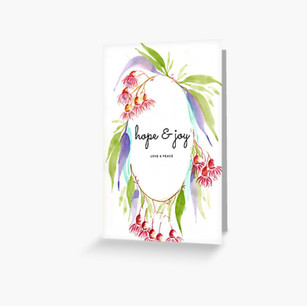 Christmas Card Hope & Joy