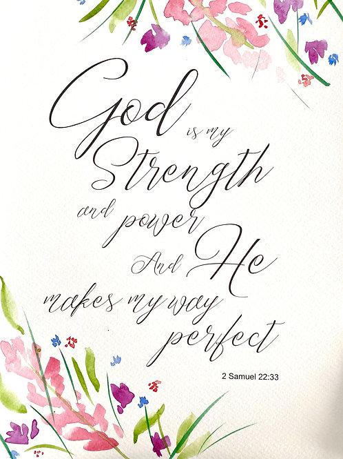 2 Samuel 22:33