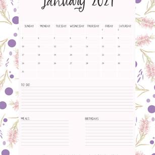 2021 Christian Verse Calendar