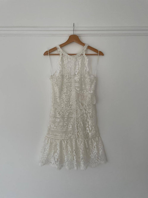 Soliel French Lace Mix Dress
