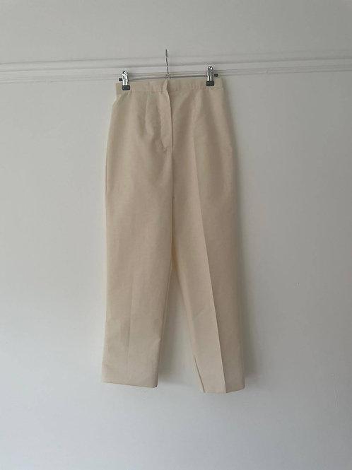 Raw Silk Trousers