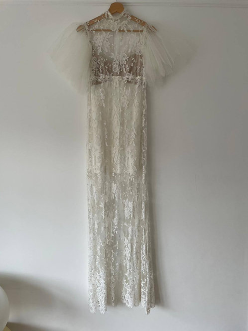 Neptune French Lace & Tulle Dress