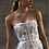 Thumbnail: Ophelia Silk Tulle & French Lace Dress