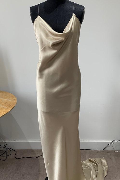 Bias Silk Slip Dress