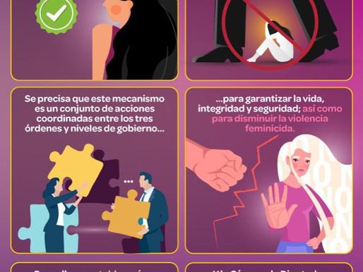 Agilizarán la alerta de violencia de género contra las mujeres