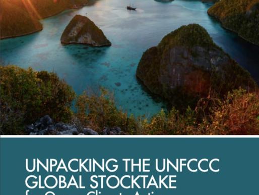 El océano es fundamental en el inventario global de la ONU