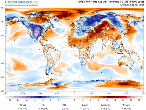 ¡Entérate! Los eventos que provocaron el clima invernal extremo en los Estados Unidos y en Europa