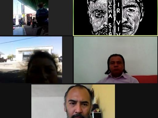 Amenazan desalojar violentamente a ejidatarios en plantón ante las oficinas de la Asurco, en Morelos