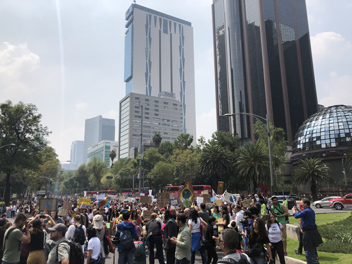 #PemexNoTeAma, consigna de la protesta de Fridays For Future México
