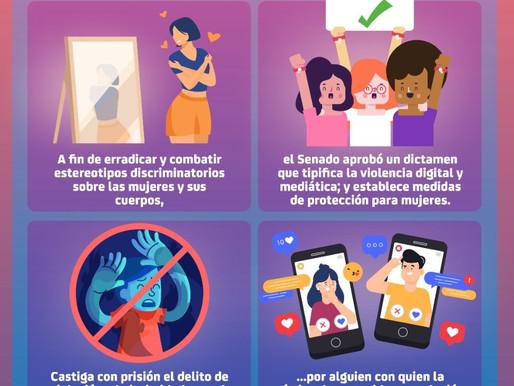 Proteger a las mujeres de la violencia digital, objetivo de la Ley Olimpia