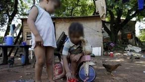 Los niños pobres no están en la agenda presidencial