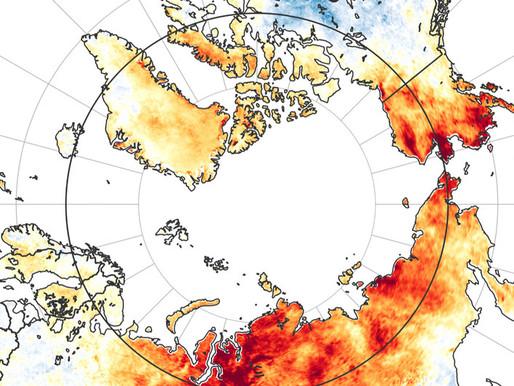 """Convierte el cambio climático a Norteamérica en una """"olla de presión"""": casi 50 grados"""