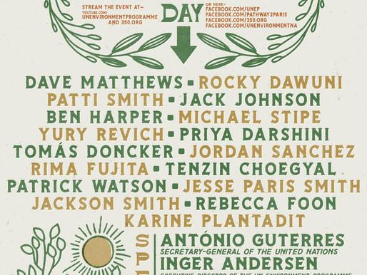 350.org organiza concierto para hacer las paces con la naturaleza