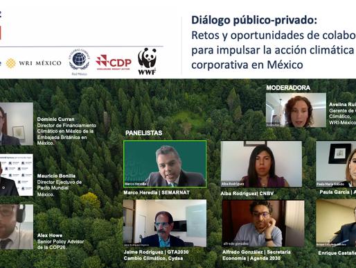 """Crearán """"comunidad de práctica"""" para apoyar la acción climática corporativa en México"""